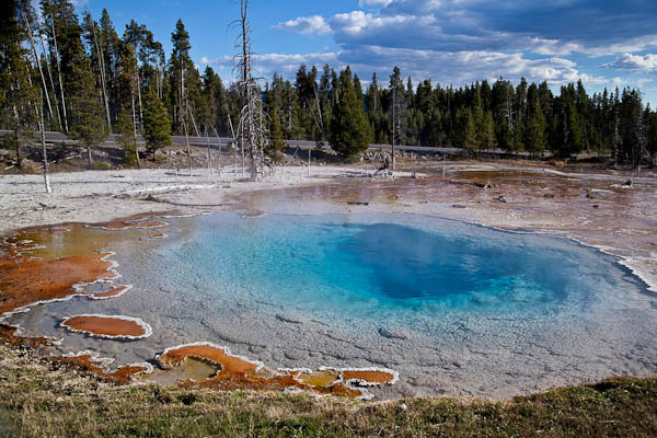 Sliex Springs on the Fountain Paint Pot Loop in Yellowstone