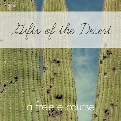 Sign up and Take My Unique Desert Gifts Course. It's Free!